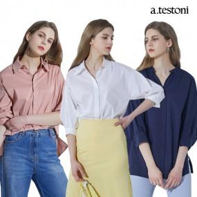 [a.testoni] NEW 아테스토니 볼로냐 셔츠 블라우스 4컬러 택1 이미지