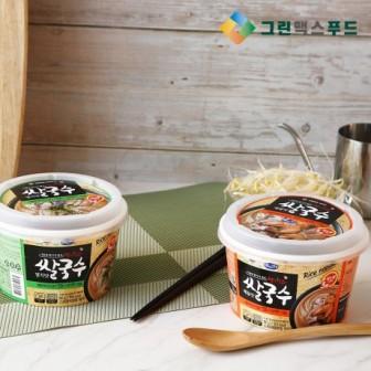 [아자픽] 그린맥스 왕의창고 쌀국수 얼큰한 해물맛/멸치맛 92g*24입 이미지