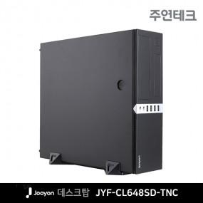 주연테크 슬림 데스크탑 JYF-CL648SD-TNC /G6400 /DDR4 8G /H410M /SSD 240G 이미지