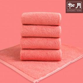 송월 고중량 코마사 컬러칩 호텔수건 핑크 10장 이미지