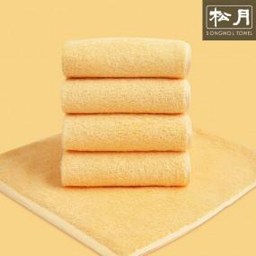송월 고중량 코마사 컬러칩 호텔수건 옐로우 10장 이미지