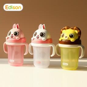 [에디슨]유아 아기 입체 빨대컵 시리즈2 이미지