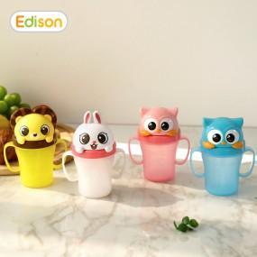 [에디슨]유아 아기 흘림방지 빨대컵 물컵 시리즈3 이미지