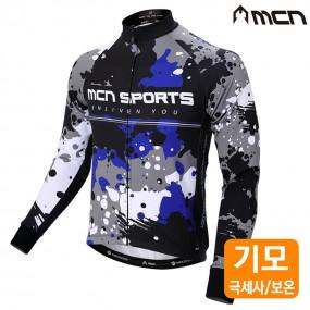 MCN 멀린 자전거기모져지 겨울자전거옷 자전거의류 이미지