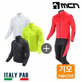 MCN 루버 겨울자전거옷세트 자켓+기모져지+기모바지 이미지