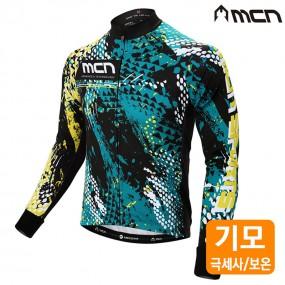 MCN 란슬롯 자전거기모져지 겨울자전거옷 자전거의류 이미지