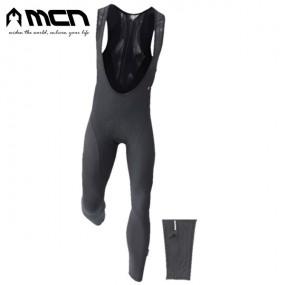 MCN 기모 빕숏 블랙011 겨울자전거바지 겨울자전거옷 이미지