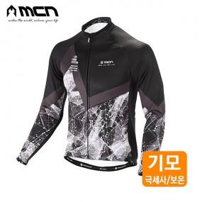 MCN 그리세우스 자전거기모져지 겨울자전거옷 이미지