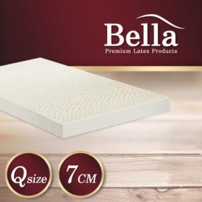 벨라 천연라텍스 매트리스 7cm Q +(전용커버 1cm)+ 라텍스 베개 2개 이미지