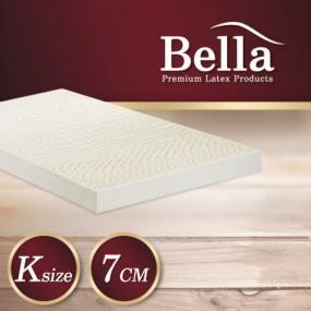 벨라 천연라텍스 매트리스 7cm K +(전용커버 1cm)+ 라텍스 베개 2개 이미지