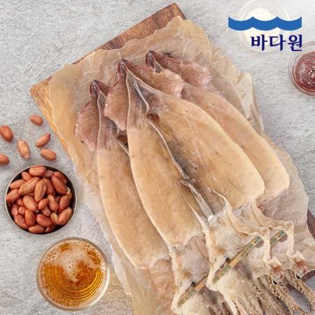 [지팔자]★이번 명절 오징어는 안드십니까★바다원 동해안 건조오징어 5미 (300g) 국내산