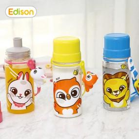 [에디슨]유아 아기 흘림방지 트라이탄 물병 물컵 이미지