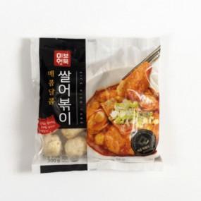 [미보부산어묵] 담백한 쌀어묵 쌀어볶이 300g(소스포함) 이미지