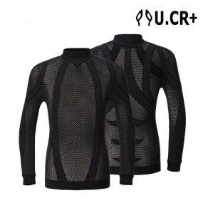 UCR+ 3D매쉬 컴프레션웨어 긴팔 뱀부 테이핑 자전거 스포츠 이미지