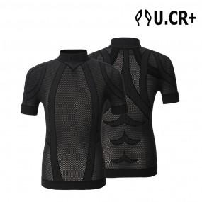 UCR+ 3D매쉬 컴프레션웨어 반팔 뱀부 테이핑 자전거 스포츠 이미지