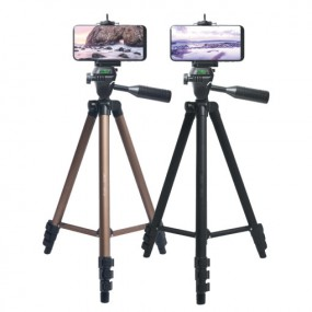 [LAAON] 스마트폰/카메라겸용 알루미늄바디 삼각대 ITB-SF70 이미지