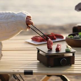 [레가토] 자연을 닮은 원목가전 요리 주파수를 맞추다 미니 전기 그릴 JF-G202 이미지