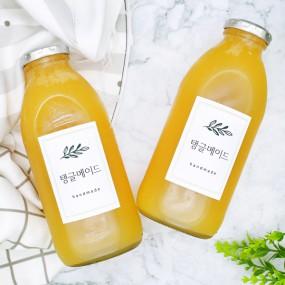 맛있는 수제청! 탱글메이드 레몬생강청 600g [자연두레] 이미지