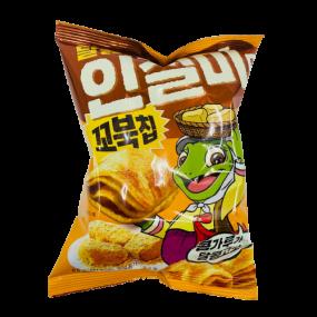 [아자마트]오리온 꼬북칩 달콩인절미맛 65g 이미지