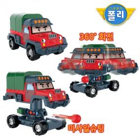 로보카폴리 변신 장난감 포처 이미지