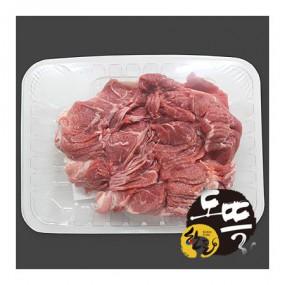 [도뜰  한돈] 파머스팩 냉장 돈 뒷다리 불고기 800g(수육용,다짐육 선택가능) 이미지