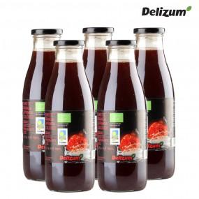 델리줌 유기농 NFC 착즙 석류 음료 주스 건강 750mlx5 이미지