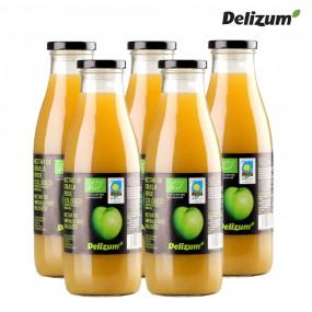 델리줌 유기농 맛있는 자두 주스 음료 퓨레 750mlx5 이미지