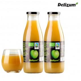 델리줌 유기농 맛있는 자두 주스 음료 퓨레 750mlx2 이미지