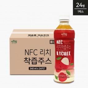 자연원 NFC 리치착즙주스 340ml x 24병 이미지