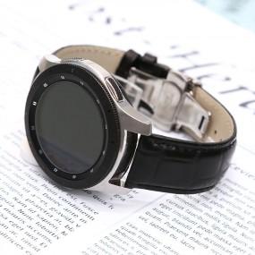 발렌티노루디 VRG103-BK 갤럭시워치 3 S3 클래식 프론티어 가죽밴드 스트랩 22mm 이미지