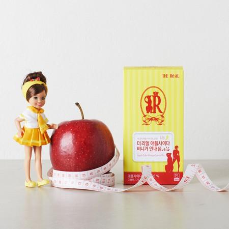 [정오의 특가]★1+1+1★[더리얼] THE Real 애플사이다 비니거 인내심 5g x 15포 (무료배송)