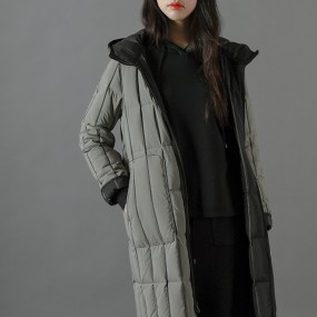 ★TREND PICK! 백화점 브랜드  큐브퀼팅 양면다운 코트 이미지