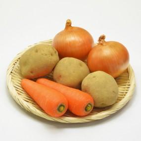 ★무농약 가정용 3종 set (감자 3-4입, 양파3-4입, 당근 1입) 이미지
