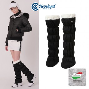 [클리브랜드골프] 헝가리구스 로고장식 여성 다운패딩 방한 발토시/골프용품_CGKWLC200R1 이미지