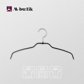 엠부띠끄 여성용 슬림 셔츠 블라우스 논슬립 옷걸이 M_38FT 이미지