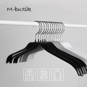 엠부띠끄 자켓용 상의 논슬립 옷걸이 M_41F 10개입 이미지