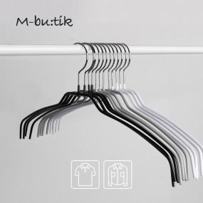 엠부띠끄 와이셔츠용 상의 논슬립 옷걸이 M_42FT 10개입 이미지