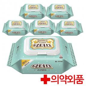 [한울생약] 닥터스 손소독티슈 캡형(30매) 6팩 / 제균티슈 이미지