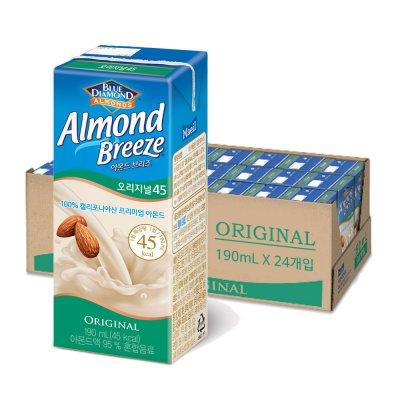 [매일유업] 아몬드브리즈(옵션선택)190ml x 1box (24팩)