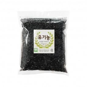 [푸른들판] 유기농 흑미 1kg 이미지