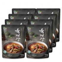 [교동식품] 교동 육개장 500gx8팩(실온) 이미지