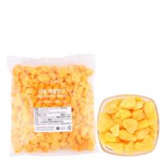 [아자마트] [딜라잇가든] 냉동 애플망고(피스앤바이츠) 1kg 이미지