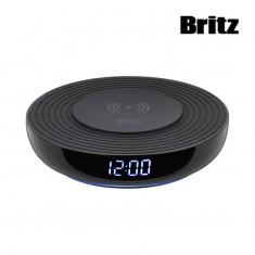 [브리츠] 디지털시계 겸용 고속무선 충전기 BZ-T1 WC 블랙 이미지