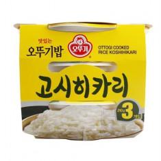 [오뚜기] 맛있는 즉석밥 고시히카리 210gX3입 이미지
