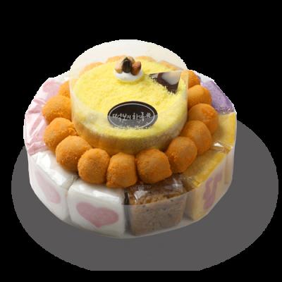 (빠른배송/지정일배송) 떡보의하루 고구마떡케익3호 국산쌀100%