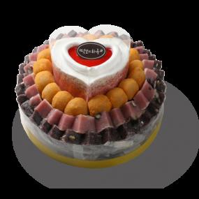 떡보의하루 산딸기떡케익2호 국산쌀100% 이미지