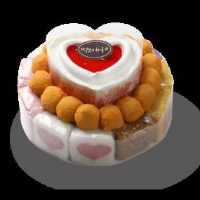 떡보의하루 산딸기떡케익3호 국산쌀100% 이미지