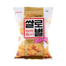 [아자마트][롯데] 쌀로별 오리지널 129g*3개 이미지