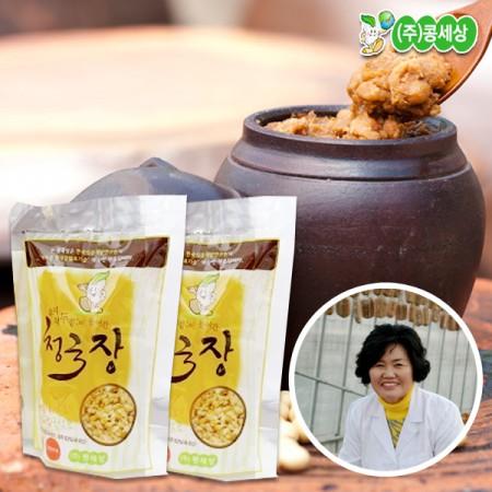 충청북도 진천 김옥주님의 콩세상 청국장 130g 3봉