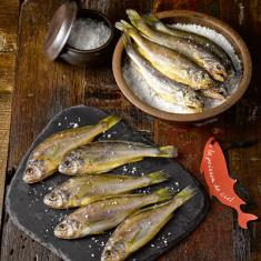 [하늘물고기] 느림의 미학  자연산 바다품은 참조기건정(냉동건조생선) 선물세트 1호 (10미) 이미지